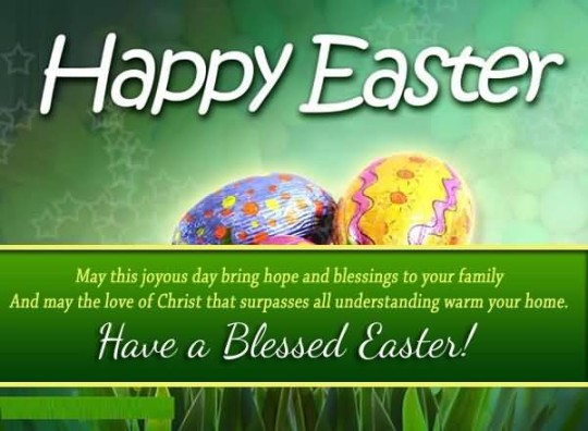 Ultimate Message Happy Easter Wallpaper