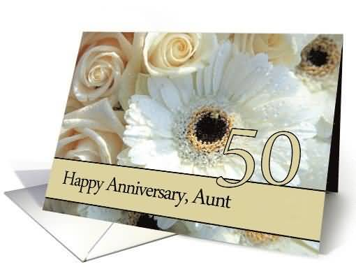 Unique th anniversary wishes for aunt e card nicewishes