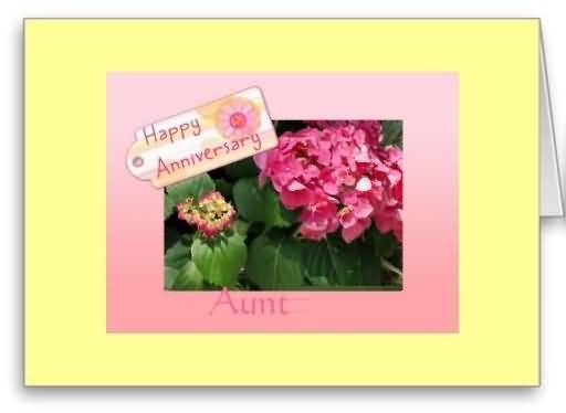 Unique Anniversary Wishes For Aunt E-Card