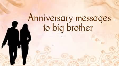 Unique Anniversary Wishes For Brother Picture