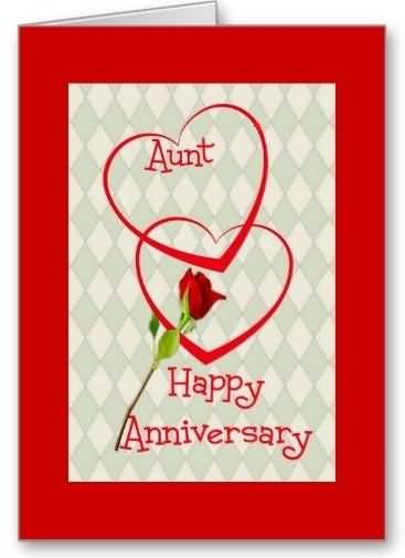 Unique E-Card Anniversary Wishes For Aunt