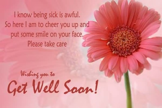 Unique Message Get Well Soon Image