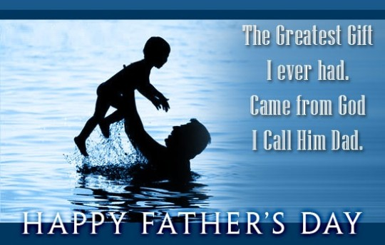 Unique Wishes Happy Father's Day Image