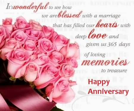 Wonderful Greetings Anniversary Wishes For Sister