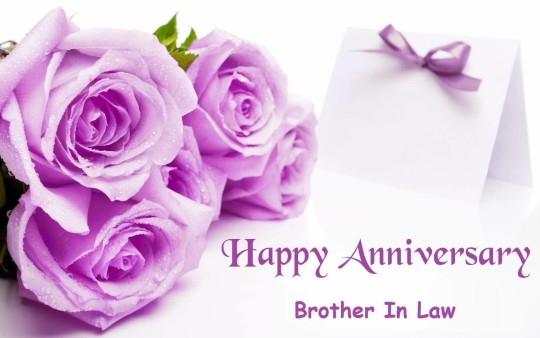 Wonderful Message Anniversary Wishes For Brother In Law Wallpaper