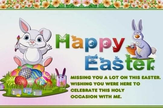 Wonderful Message Happy Easter Picture