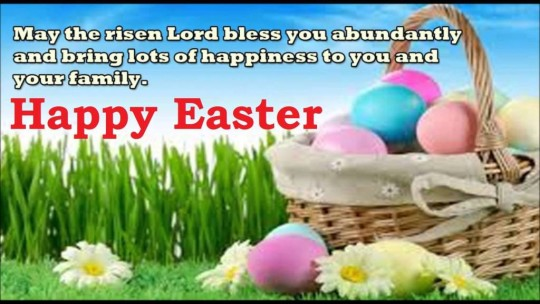 Wonderful Message Happy Easter Walpaper