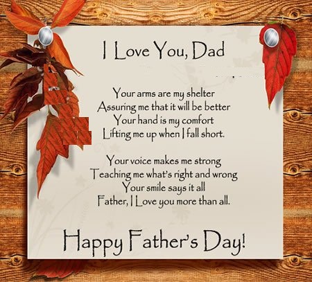 Wonderful Message Happy Father's Day Graphic