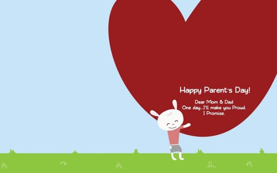 Wonderful Message Happy Parent's Day Image
