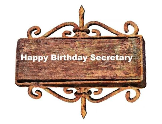 Amazing Birthday Wishes For Secretary Greetings