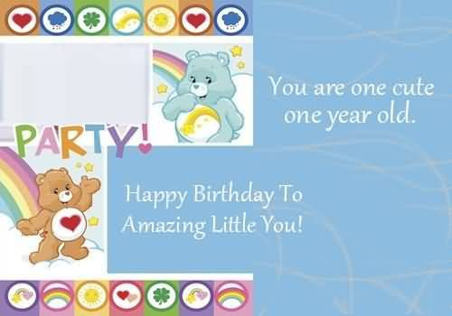 Amazing E-Card Birthday Wishes For 1st Baby Boy