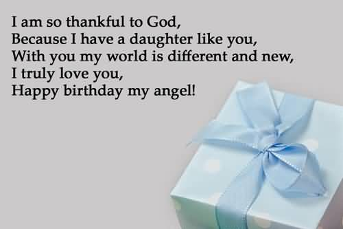 Amazing Message Birthday Wishes For Daughter Wallpaper