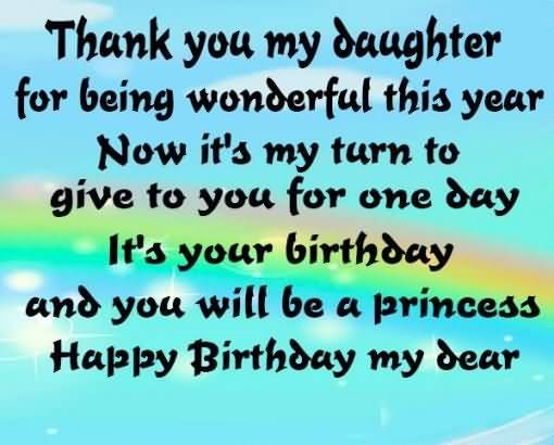 Amazing Quote Birthday Wishes For Daughter Wallpaper