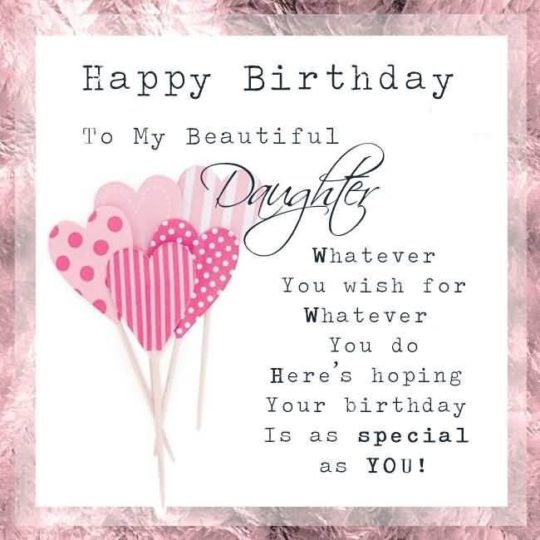 Awesome Birthday Wishes For Daughter E-Card (2)