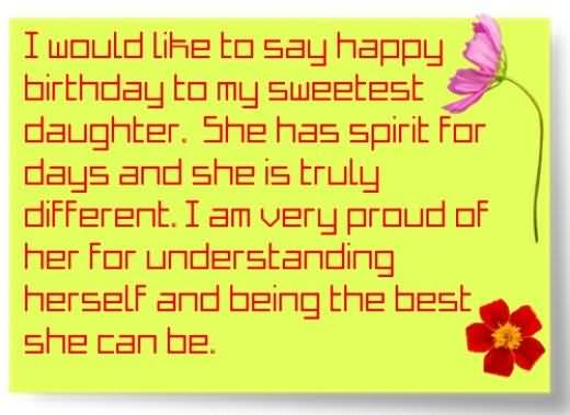 Awesome Birthday Wishes For Daughter Scrap