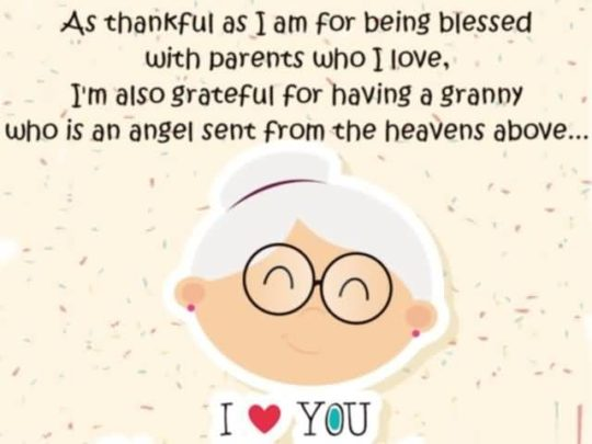 Awesome Birthday Wishes For Grandmother Image