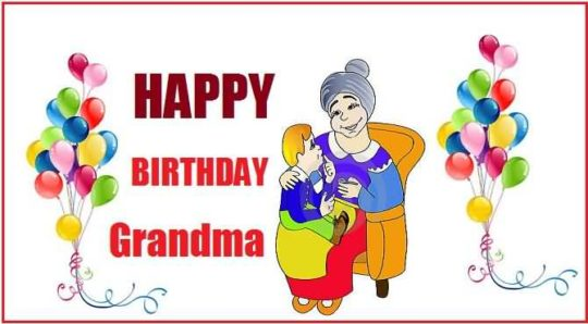 Awesome Birthday Wishes For Grandmother Wallpaper