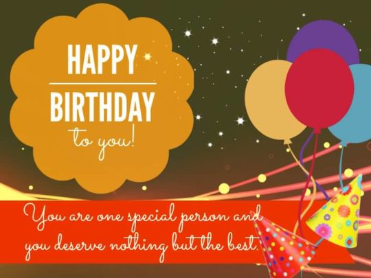 Awesome Birthday Wishes For Teacher Image