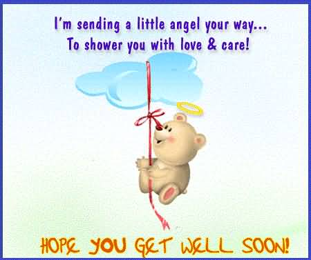 Awesome Message Get Well Soon Wallpaper