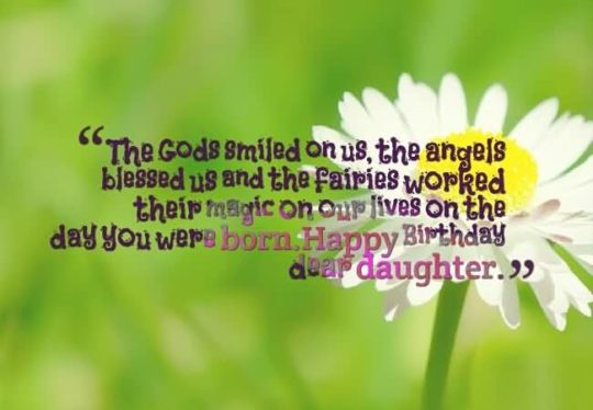 Awesome Quote Birthday Wishes For Daughter Wallpaper