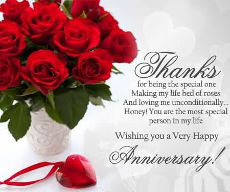 Beautiful Anniversary Wishes For Aunt Image