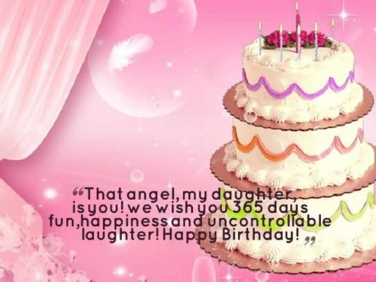 Beautiful Birthday Wishes For Daughter Greeetings