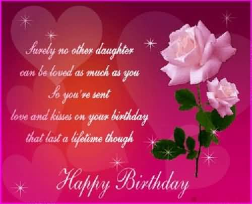 Best Birthday Wishes For Daughter Greetings