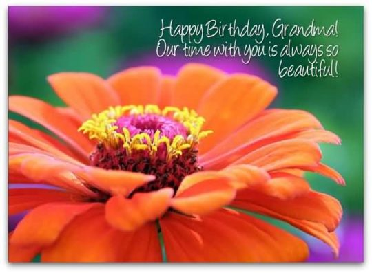 Best Birthday Wishes For Dear Grandmother Wallpaper