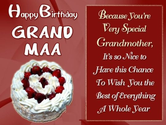 Best Birthday Wishes For Grandmother Wallpaper