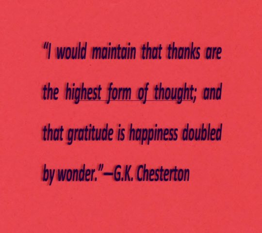 Best Thanks Quotes By G.K. Chesterton