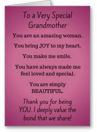 Brilliant Message Birthday Wishes For Grandmother Graphic