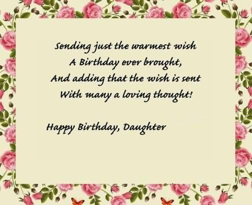 Cool Message Birthday Wishes For Daughter Graphic