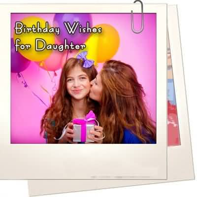 Cute Birthday Wishes For Daughter E-Card