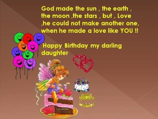 Fabulous Birthday Wishes For Daughter Picture