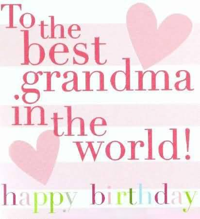 Fabulous Birthday Wishes For Grandmother Greetings