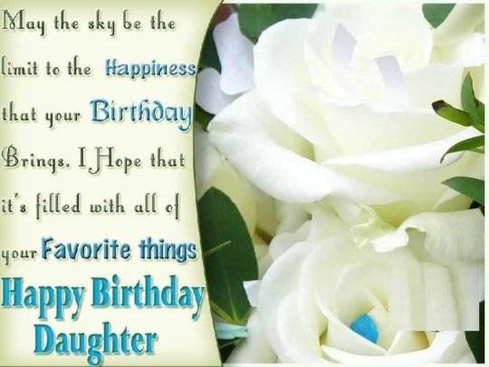 Fantastic Birthday Wishes For Daughter Image