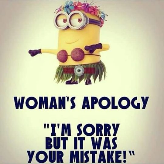 Great Apology Quotes It Was You Mistake