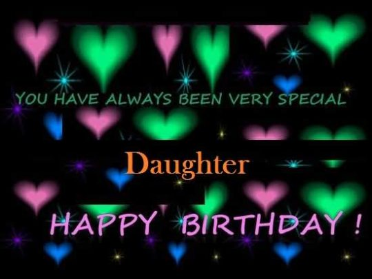 Great Birthday Wishes For Daughter Greetings