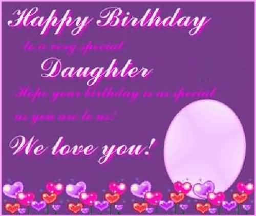 Great Birthday Wishes For Daughter Image