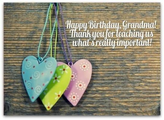 Great Birthday Wishes For Grandmother Scrap