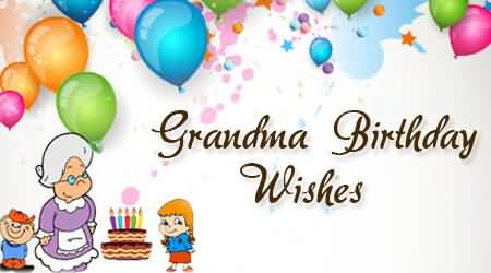 Great Birthday Wishes For Grandmother Wallpaper
