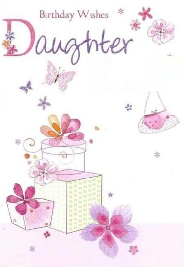 Latest Birthday Wishes For Daughter E-Card