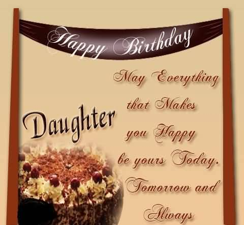 Latest Birthday Wishes For Daughter Greetings