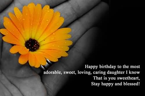 Latest Birthday Wishes For Daughter Wallpaper