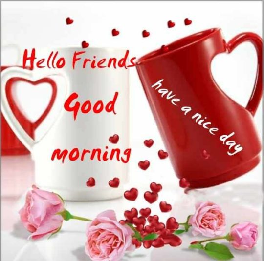 Lovely Good Morning Wishes For Friend - NiceWishes
