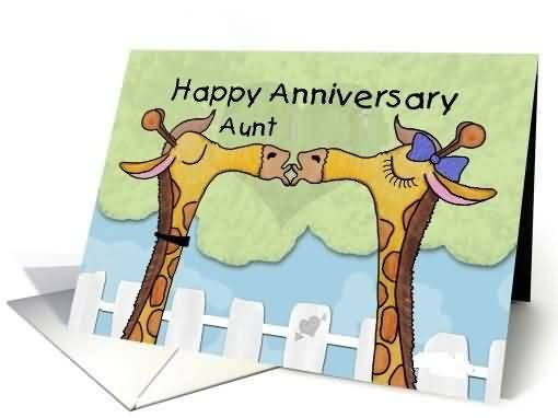 Mind Blwoing Funny E-Card Anniversary Wishes For Aunt