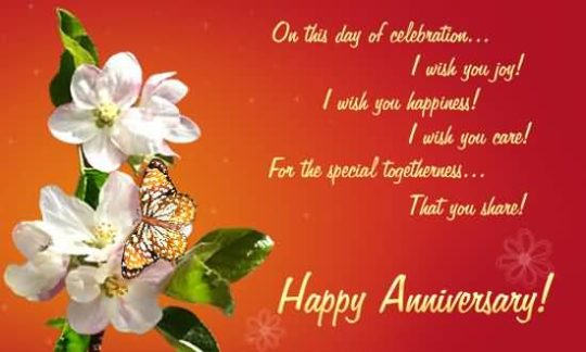 Nice Anniversary Wishes For Aunt Picture