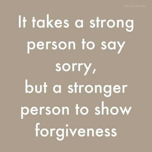 Nice Apology Quotes Person To Show Forgiveness