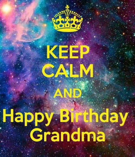Nice Birthday Wishes For Grandmother E-Card