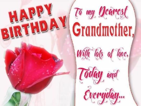 Outsatnding Birthday Wishes For Grandmother Wallpaper